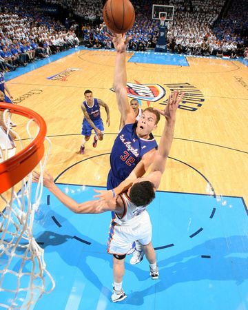 2014 NBA Playoffs Game 2: May 7, Los Angeles Clippers vs Oklahoma City Thunder - Blake Griffin Photo by Layne Murdoch