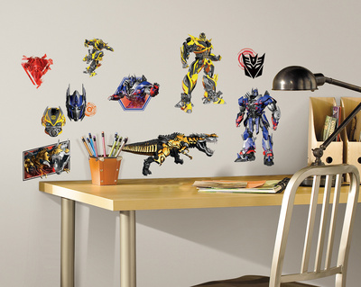 Transformers: Age of Extinction Peel and Stick Wall Decals Wall Decal