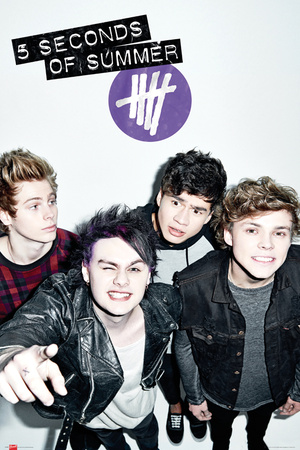 5 Seconds of Summer - Single Cover Prints