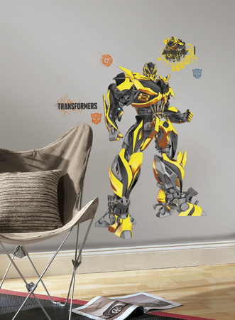 Transformers: Age of Extinction Bumblebee Peel and Stick Giant Wall Decals Wall Decal