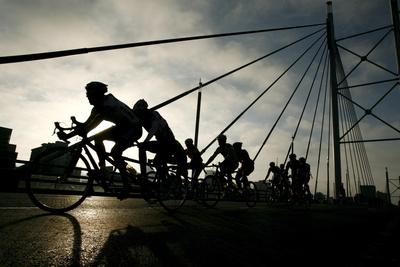 Cyling Race 94.7Km Photographic Print by Kim Ludbrook