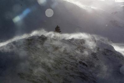 Foehnwind in Switzerland Photographic Print by Urs Flueeler