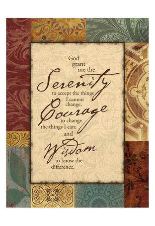 Serenity Print by Jace Grey