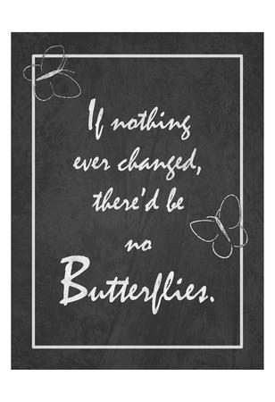 Butterflies Print by Tony Pazan