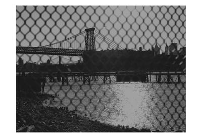 New York City Bridges 2 Posters by Sandro De Carvalho