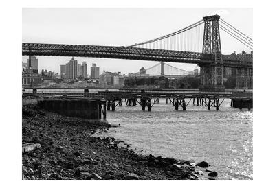 New York City Bridges 1 Art by Sandro De Carvalho