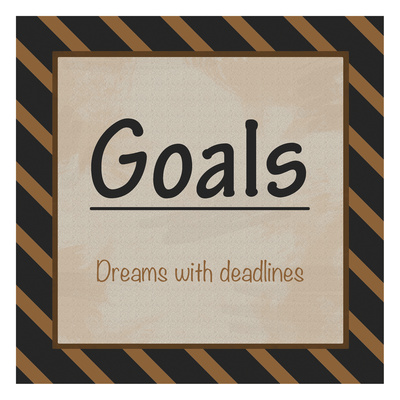 Goals Prints by Lauren Gibbons