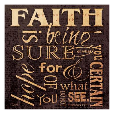 Faith Hebrews Posters by Carole Stevens