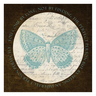 Love Butterfly Art by Taylor Greene