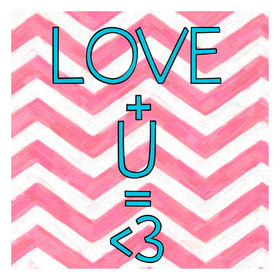 Love Plus (ver 2) Prints by Taylor Greene