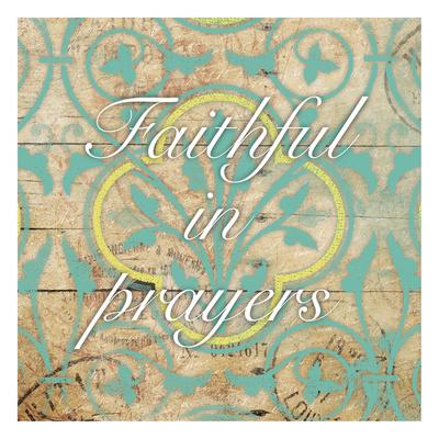 Be Faithful Print by Jace Grey