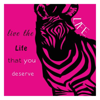 Zebra Life Poster by Taylor Greene