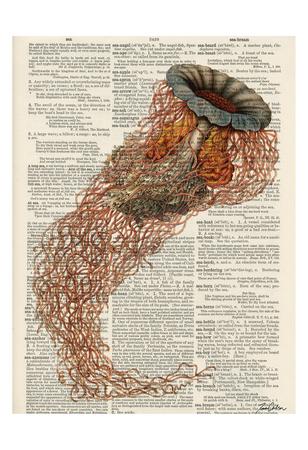 Jelly 1 Print by Tina Carlson