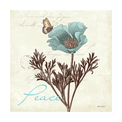 Touch of Blue I Prints by Katie Pertiet