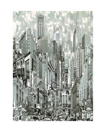 Uptown Loop Giclee Print by Serge Mendjisky
