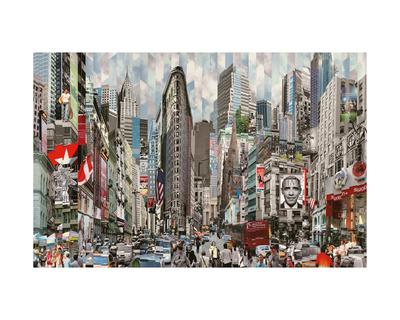 Hommage a Barack Giclee Print by Serge Mendjisky