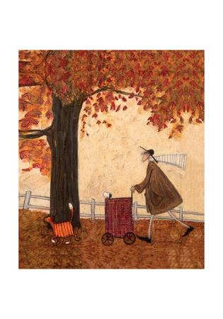 Squeeze Amid the Trees Giclee Print by Sam Toft