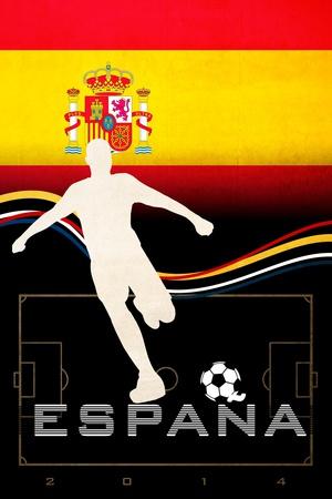 Brazil 2014 - Spain Posters