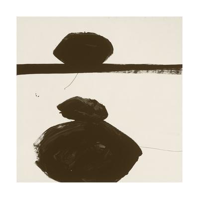Sepia J Giclee Print by Franka Palek