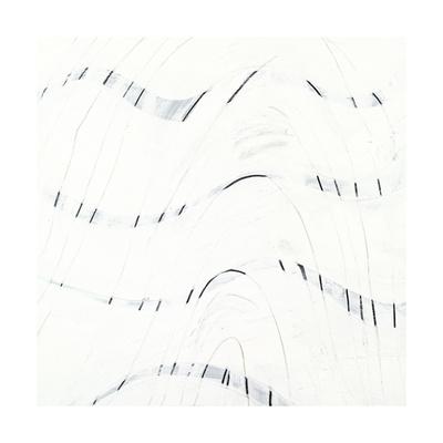 Black and White C Giclee Print by Franka Palek