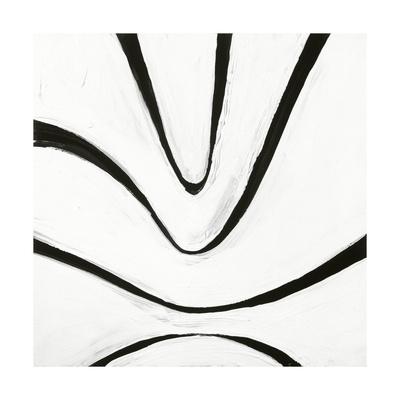 Black and White B Giclee Print by Franka Palek