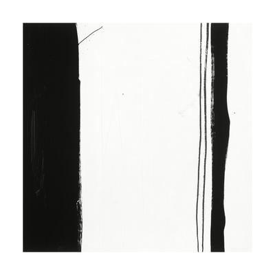 Black and White G Giclee Print by Franka Palek
