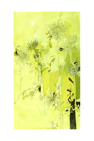 Fragmented Foliage 3 Giclee Print by Mercedes Marin