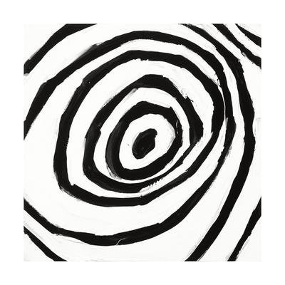 Black and White L Giclee Print by Franka Palek