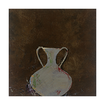 Brown Vase Giclee Print by Susan Gillette
