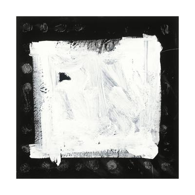 Black and White M Giclee Print by Franka Palek