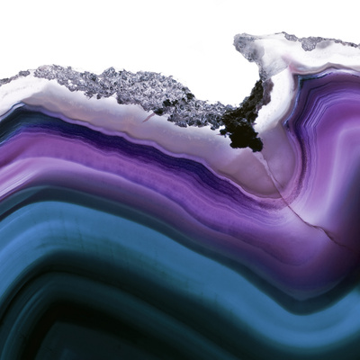 Aster Agate A Photographic Print by  GI ArtLab