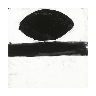 Black and White O Giclee Print by Franka Palek