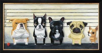 The Lineup Art by Brian Rubenacker