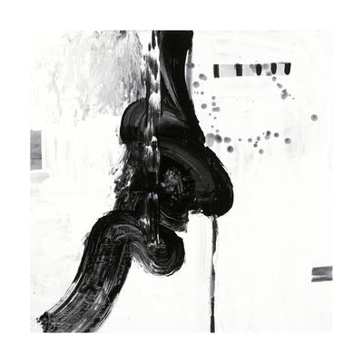 Black and White P Giclee Print by Franka Palek