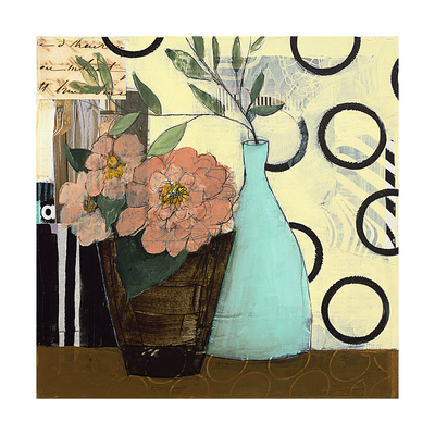 Pink Boquet Giclee Print by Charlotte Foust