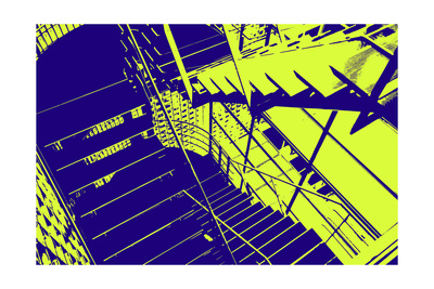 Stairwell Giclee Print