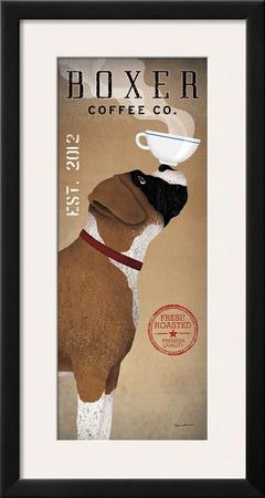 Boxer Coffee Co Prints by Ryan Fowler