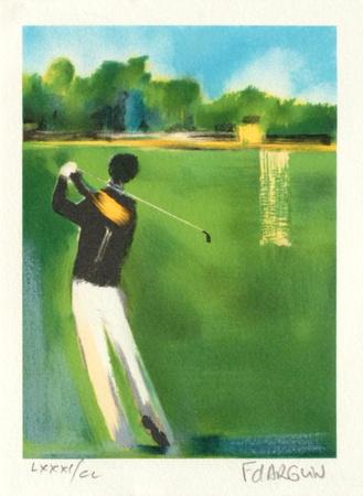 Petite Suite - au Golf Limited Edition by Francois D'arguin