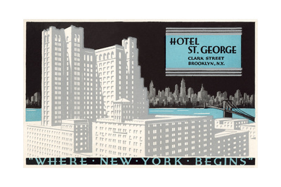 Hotel St. George, Brooklyn Prints
