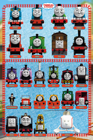 Thomas and Friends - Characters Prints