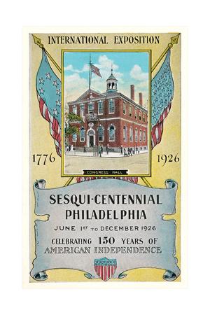 Philadelphia Sesquicentennial Exposition Prints