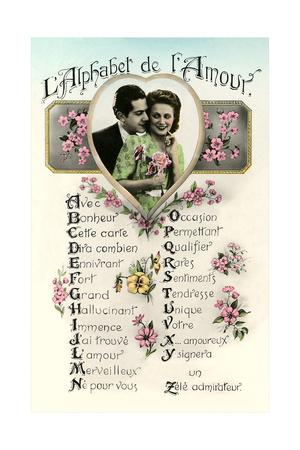 Alphabet of Love Prints