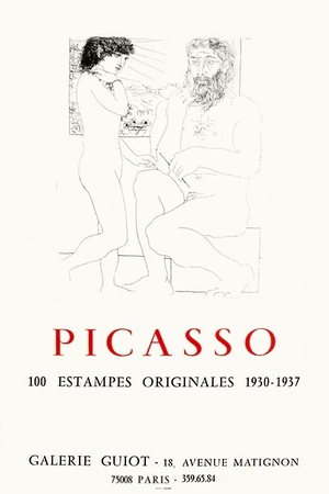 Expo 73 - Galerie Guiot Collectable Print by Pablo Picasso