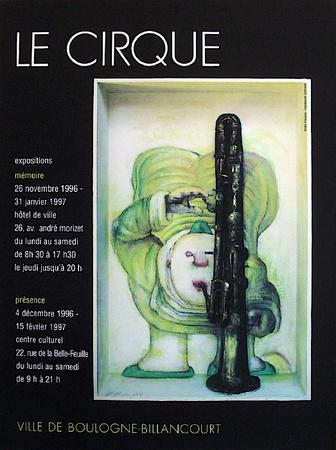 Le Cirque Collectable Print by André François