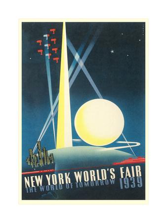 Trylon and Perisphere, World's Fair Pósters
