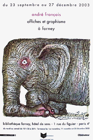 Affiches Et Graphisme À Forney Collectable Print by André François