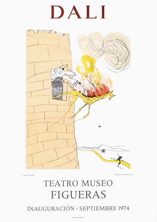 Teatro Museo Figueras 7 Collectable Print by Salvador Dalí