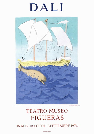 Teatro Museo Figueras 2 Collectable Print by Salvador Dalí