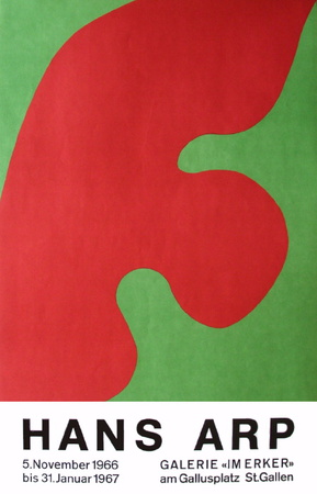 Expo Galerie Im Erker I Collectable Print by Jean Arp