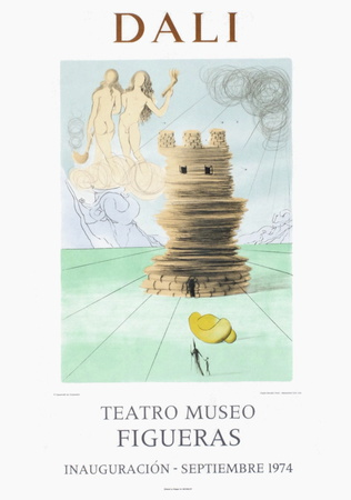 Teatro Museo Figueras 5 Collectable Print by Salvador Dalí